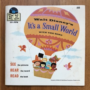 It's a Small World WALT DISNEY BOOK AND RECORD