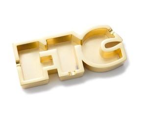 FTC (エフティーシー) / OG LOGO ASHTRAY -GOLD-
