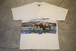 USED Montana T-shirt 90s T0396