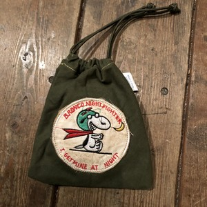 "Vietnam War Patch ""Kinchaku"" Pouch, Bronco"