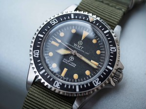 "W.MT WATCH Royal Marine – Royal Navy ""Aged"" Limited Edition"