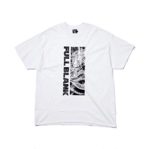 FULL-BK - METAL DRAGON TEE (WHITE) -