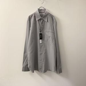 HELMUT LANG デザインシャツ グレー size L メンズ 古着