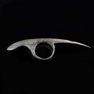 Beak Ring 〈Silver〉-Amy Glenn-
