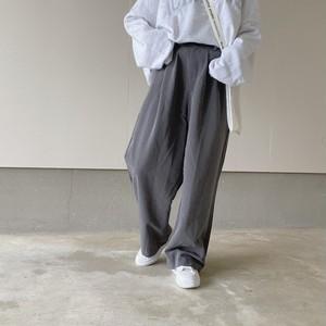 【10/26 23:59まで受注販売】loose silhouette wide pants【8/1n-4】※11月下旬から順次発送
