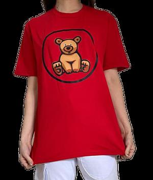 【SKANDHAL】CARPI Tシャツ【レッド】【新作】イタリアンウェア《M&W》