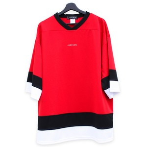 Logo Hockey Tee (JFK-021) - Red