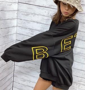 裏起毛 刺繡ロゴ BIG TOP 【品番 750023】
