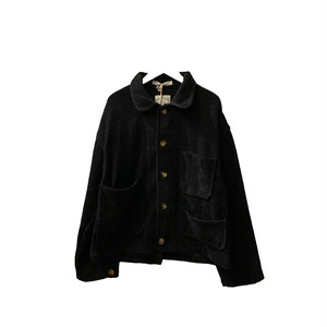 Corduroy Coverall jacket 【ChahChah】