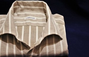 CADETTO ORIGINALS SHIRTS Leno Cloth White Stripe