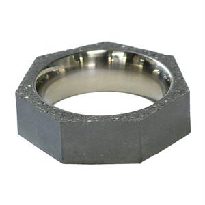 22designstudio Seven Ring THIN (Original) Original grey concrete 4719692541420 リング 指輪 #6(11号)