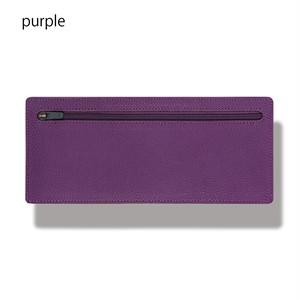 立てて使えるポーチ standing pouch 0921 purple
