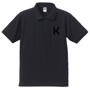 K ポロシャツ(ネイビー×ブラック)