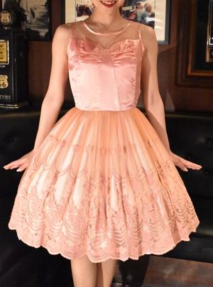 【使用済レンタル品・安心保障パック付き】クラシカルレースドレス
