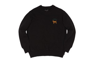 WHIMSY / HOT SPOT CREWNECK- BLACK-