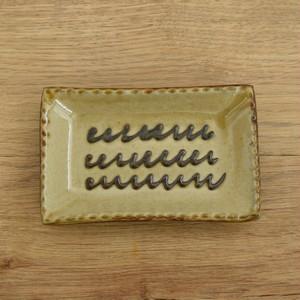 ヒネモスノタリ 角皿