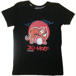 【トレーディングカード付き】 JAPAN  Collection  TigerT-Shirt  Black(KIDS)