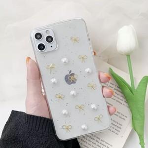 クリアリボンiPhoneケースML1022