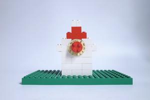 レゴ 自作時計台 ドイツ