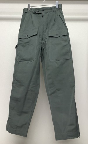 1980s CARGO POCKET TROUSERS