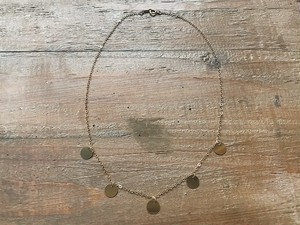 【14kgf】Coin necklace