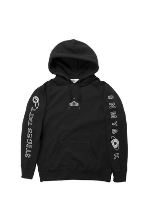 """THREE TIDES TATTOO x IN MY BOOK """"HEART SUTRA PULLOVER PARKA"""""""