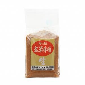 海の精 玄米味噌 国産特栽 1kg