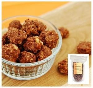 チョコレート グラノーラ 400g<マクロビ・ビーガン対応/添加物・香料・保存料・着色料・化学調味料・白砂糖・乳製品・卵不使用>