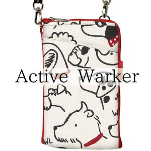 Active Warker  充電しながら手ぶらでウォーキング!肩紐(反射テープ)が車のライトに反射してキラ☆☆☆