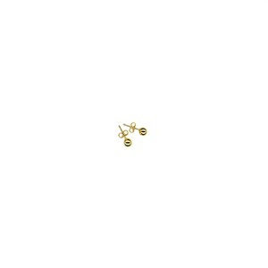 【GF2-16】gold filled ball earring