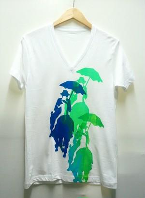 【現品のみ】エルトポ Vネック 残像Tシャツ