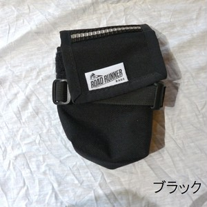 RoadRunnerBags / The Drafter Saddle Bag ブラック