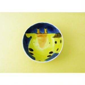 有田焼 子供茶碗 キリン[小茶付]