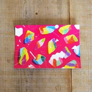ポストカード〈ピンク〉