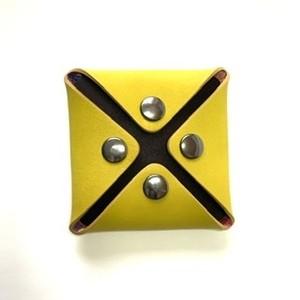 コインケース combination coin case =yellow=blue=