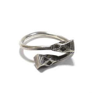Vintage African Tuareg Silver Wrap Around Ring