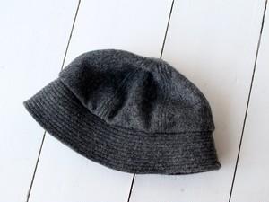 SAILOR HAT | SHAGGYWOOL c/#DARKGRAY【56~59cm】