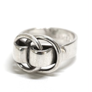 Hermès Vintage Silver Ring