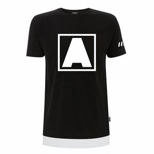 """ARMIN VAN BUUREN """"A"""" ロゴ スクエア― Tシャツ"""