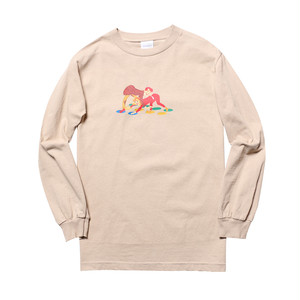WHIMSY - TWISTER L/S TEE (Sand)
