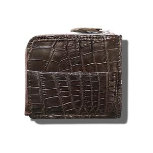 WELVET - Crocodile col.Dark Brown