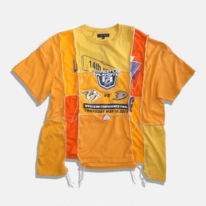 WCH Remake Handlock Patching Tee -Orange01