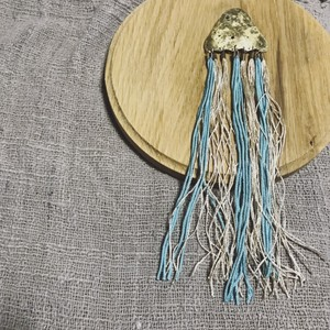 Jelly Fish Piace -BLUE-
