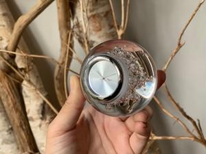 父の日プレゼント  Handmade SGHR   Clock 《スガハラガラス 時計》