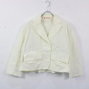 MARNI / マルニ   2Bショートジャケット   40   オフホワイト