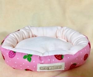 もるちゃんのベッド(いちごピンク)