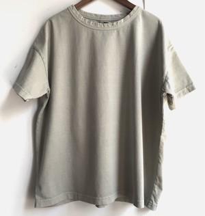 【HEAVENLY】オーガニックコットン サルファドダイ ワイドTシャツ サージ フリーサイズ【ヘブンリー】