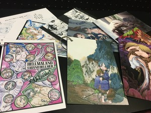 ◆在庫限り◆「妖影少女異聞」ポストカード(3枚1組)