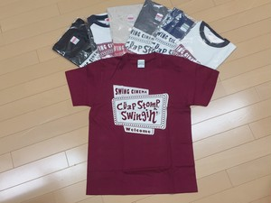 「swing cinema」Tシャツ 2500円