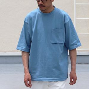 USA Cotton(10oz) Trend Archive Color T-shirts 70S Wash Denim